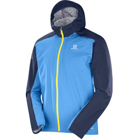Salomon Bonatti WP Jacket Men Hawaiian Surf/Night Sky